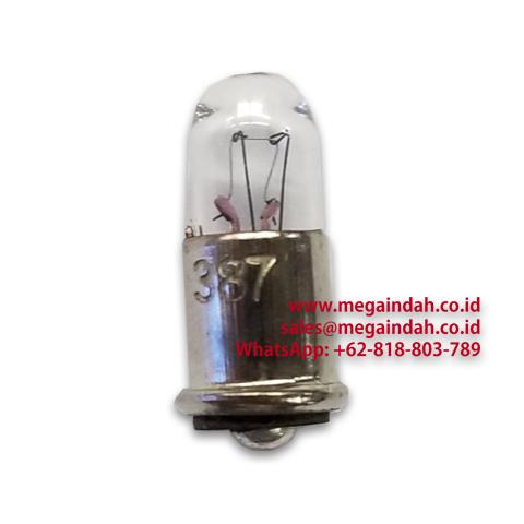 Miniature Pilot Lamp Type 387 GE Midget Flanged 28V 40mA T1-3/4